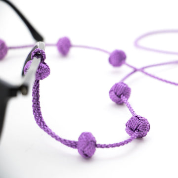 "Sunglass Strap Purple Metallic ""Kids"""