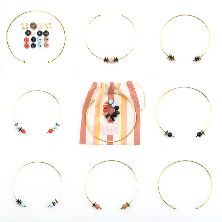 Pick-N-Mix Choker Gold Multi