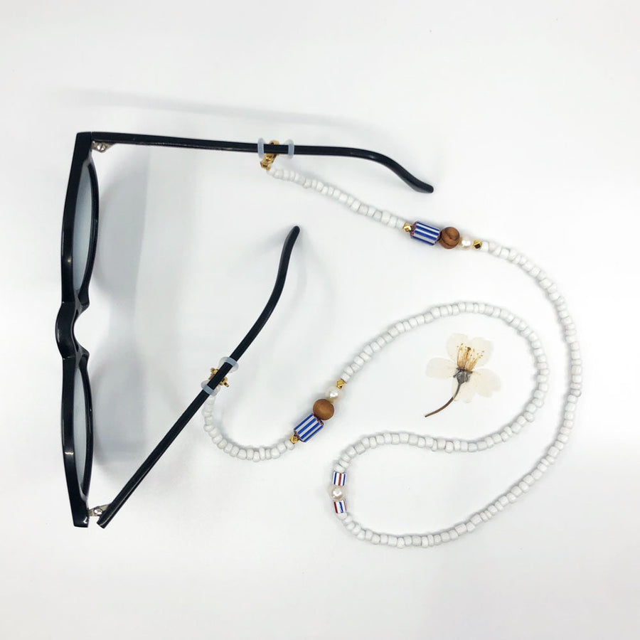 3 in 1: mask holder, necklace, glasses strap