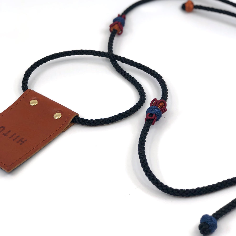 Detachable Phone Necklace Black/Multi