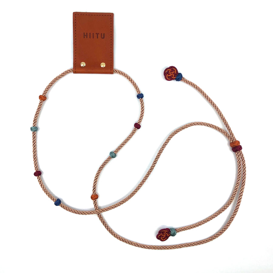 Detachable Phone Necklace Bronze/Multi