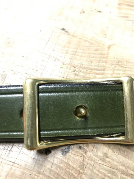 Green Bridle Leather Rhodesian Slings