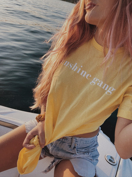 Sunshine Gang tee