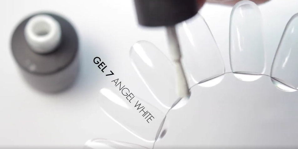Gel 7 Angle White Gel Polish