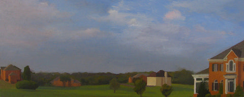 Suburban Landscape, Early Eve by Kim Parr