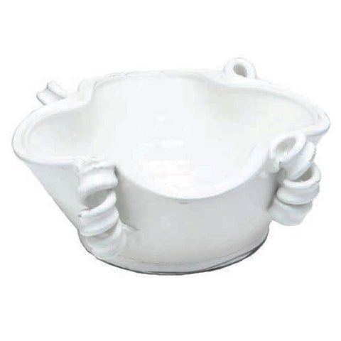 Roma Centerpiece Bowl, White