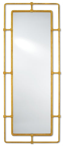 City Mirror, Gold, Large