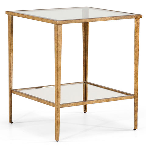 Carson End Table in Gold by Chelsea House