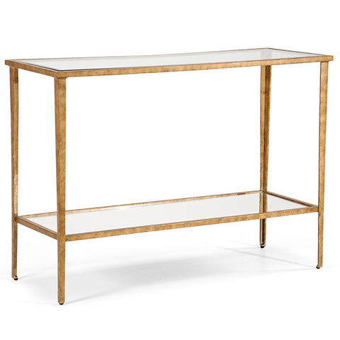 Carson Console in Gold by Chelsea House