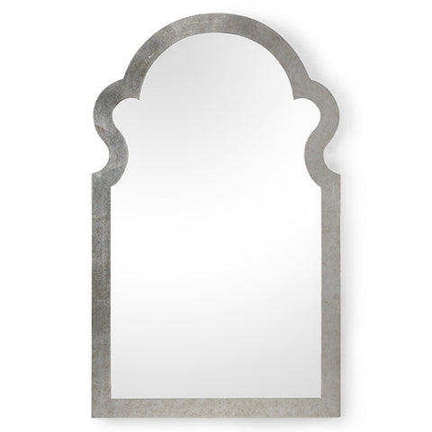 Bentley Mirror, Antique Silver