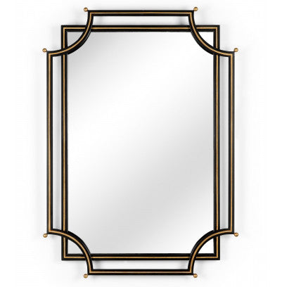 London Church Mirror in Black by Chelsea House