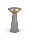 Jet Accent Table, Gray