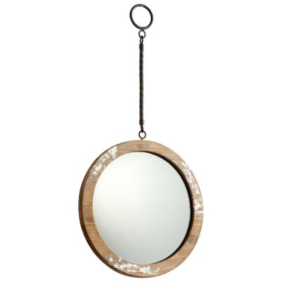 Hatter Mirror, Antique White