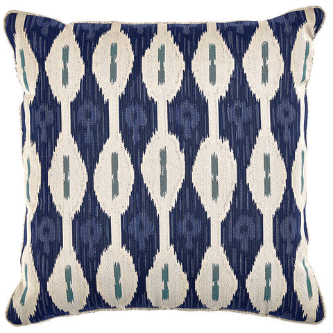 Brie Outdoor Pillow, Indigo