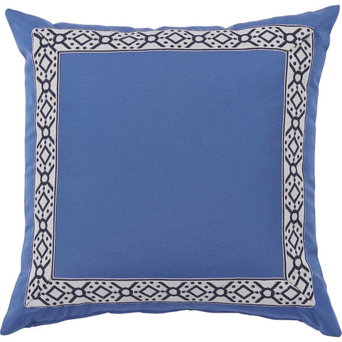 Lacefield Como Navy Tape on Typhoon Outdoor Pillow