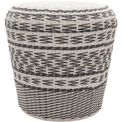 Weave Stool, Charcoal