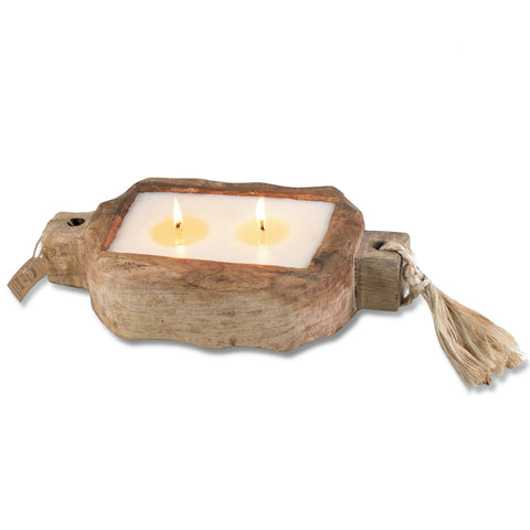 "Himalayan ""Tobacco Bark"" Driftwood Tray, Small"