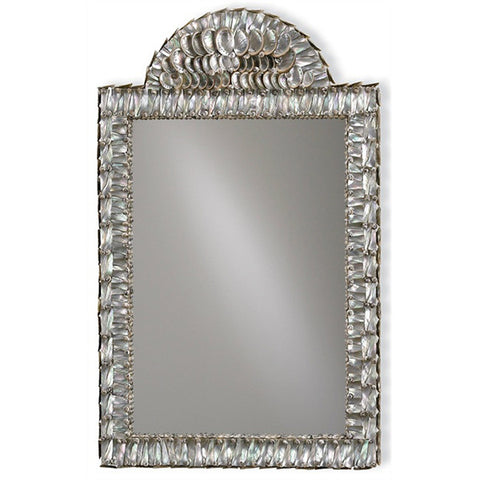 Iridescent Shell Mirror