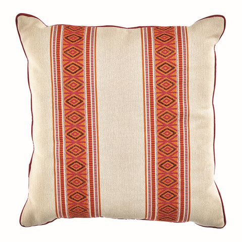 Posie Outdoor Pillow, Watermelon
