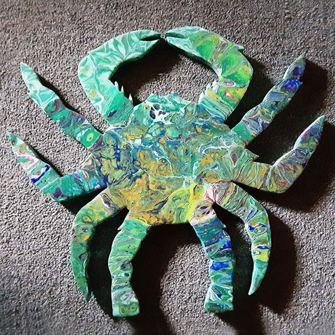Crab Resin Plaque II