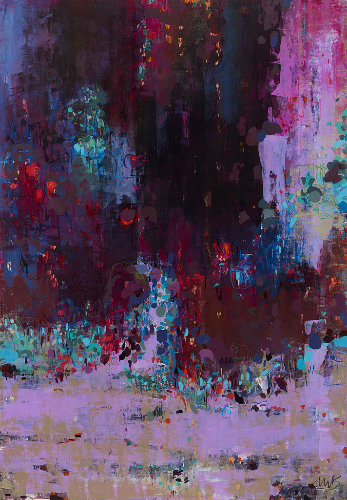 abstract contemporary artwork interior design emerging artist gallery finest Fineart