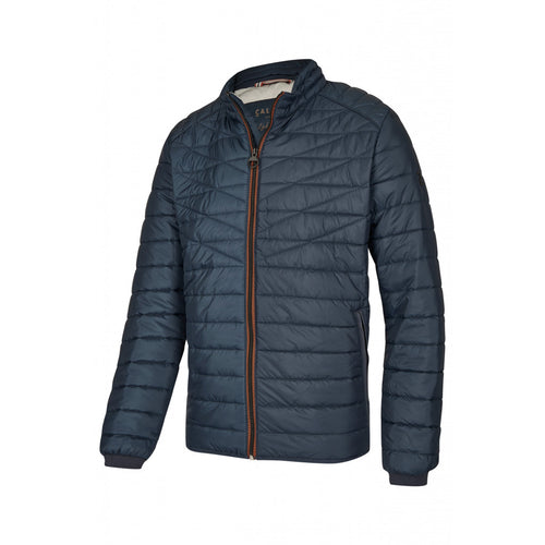 Calamar Horizontal Stitch Jacket - Navy
