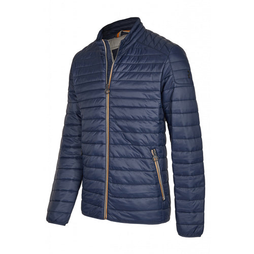 Calamar Horizontal Stitch Jacket - Blue