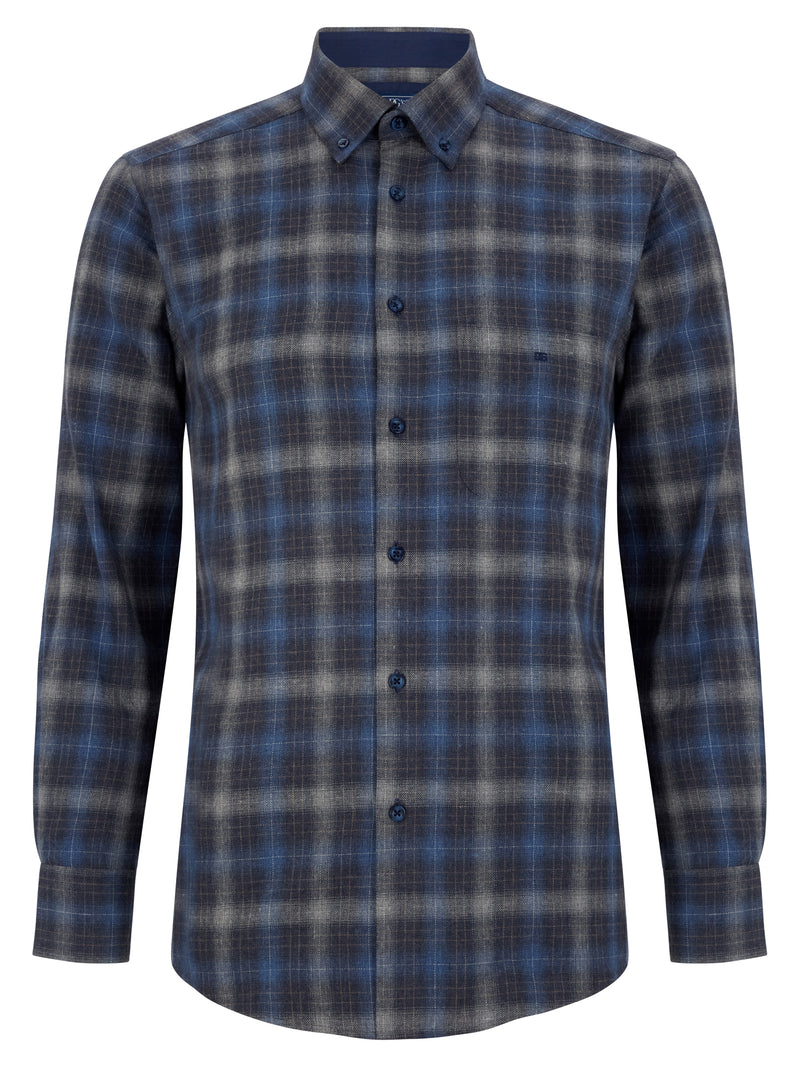 DG's Drifter Brushed Cotton Casual Shirt - 15785 28