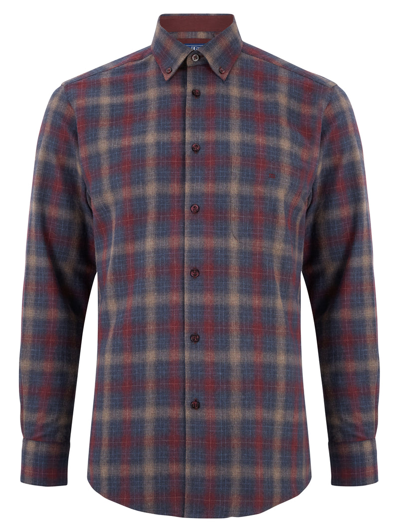 DG's Drifter Brushed Cotton Casual Shirt - 15785 67