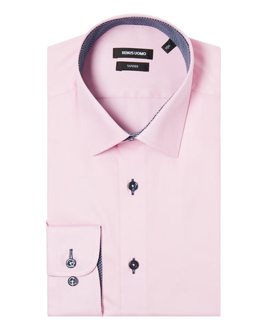 Rael Brook Long Sleeve Plain Shirt - Lilac