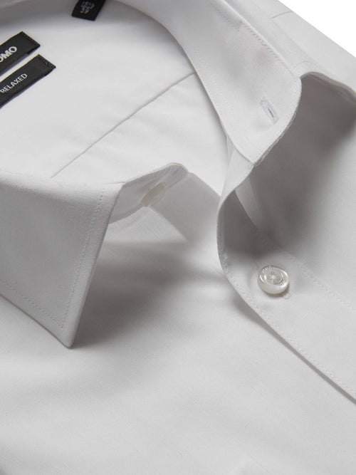 Remus Uomo Relaxed Fit Shirt - White
