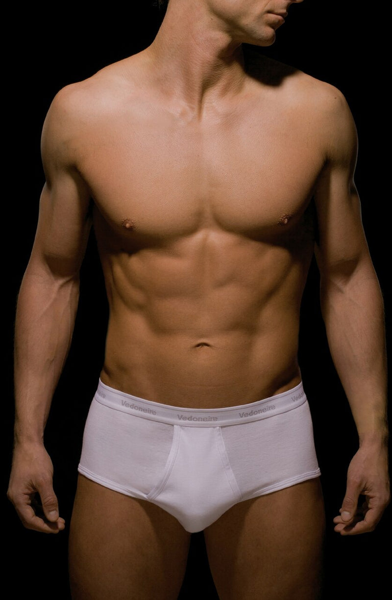Vedoneire Classic Briefs 2 Pack - White