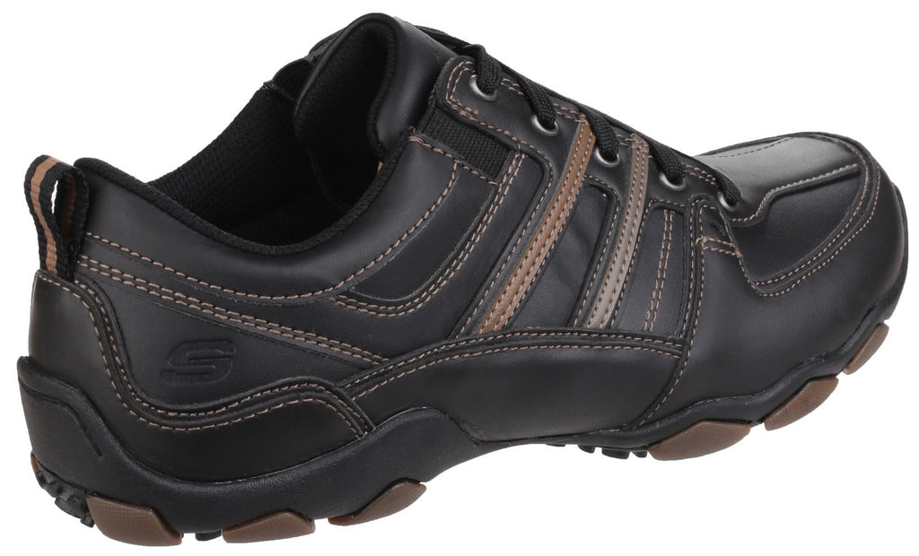 Skechers Diameter - Selent Casual Shoe Black