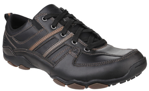 Skechers Relaxed Fit - Larson Nerick Shoe - Charcoal