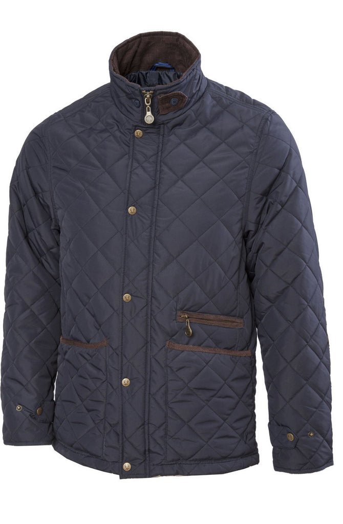 Vedoneire Quilt Jacket Navy