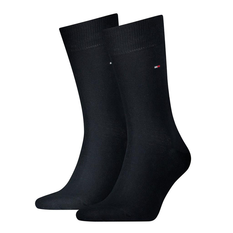 Tommy Hilfiger Classic Plain Socks 2 Pack - Navy