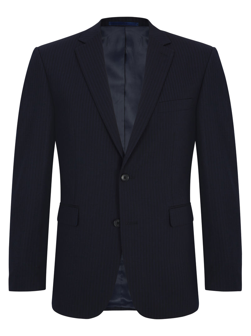 Wellington Mix & Match Suit - Navy Wool Blend Jacket