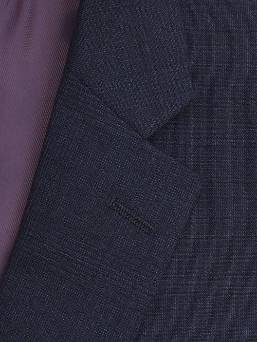 Daniel Grahame Tapered Fit Mix & Match Suit Jacket - Dark Blue Check