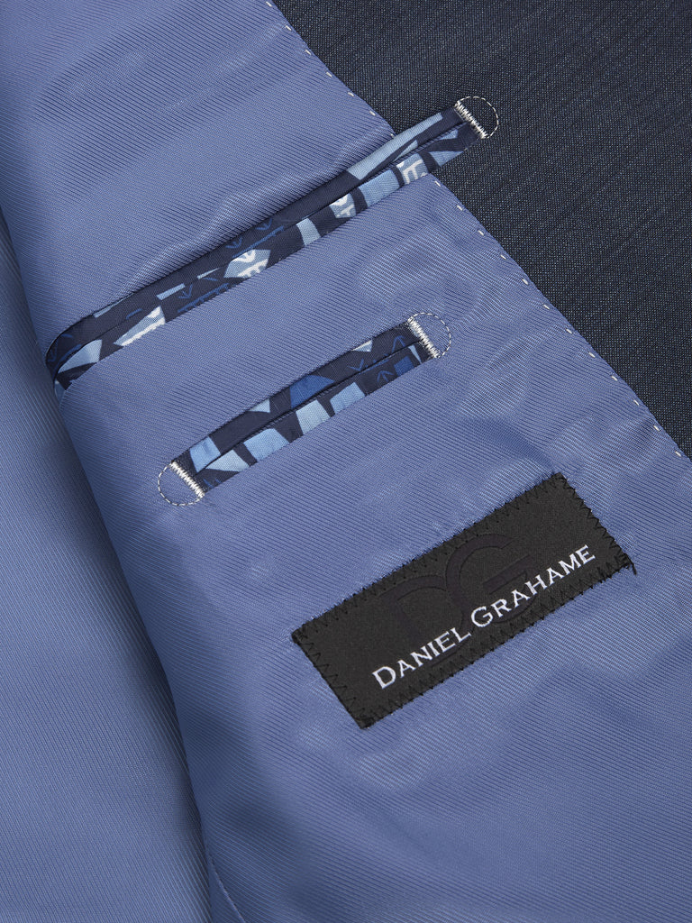 Daniel Grahame Tapered Fit Mix & Match Suit Jacket - Blue