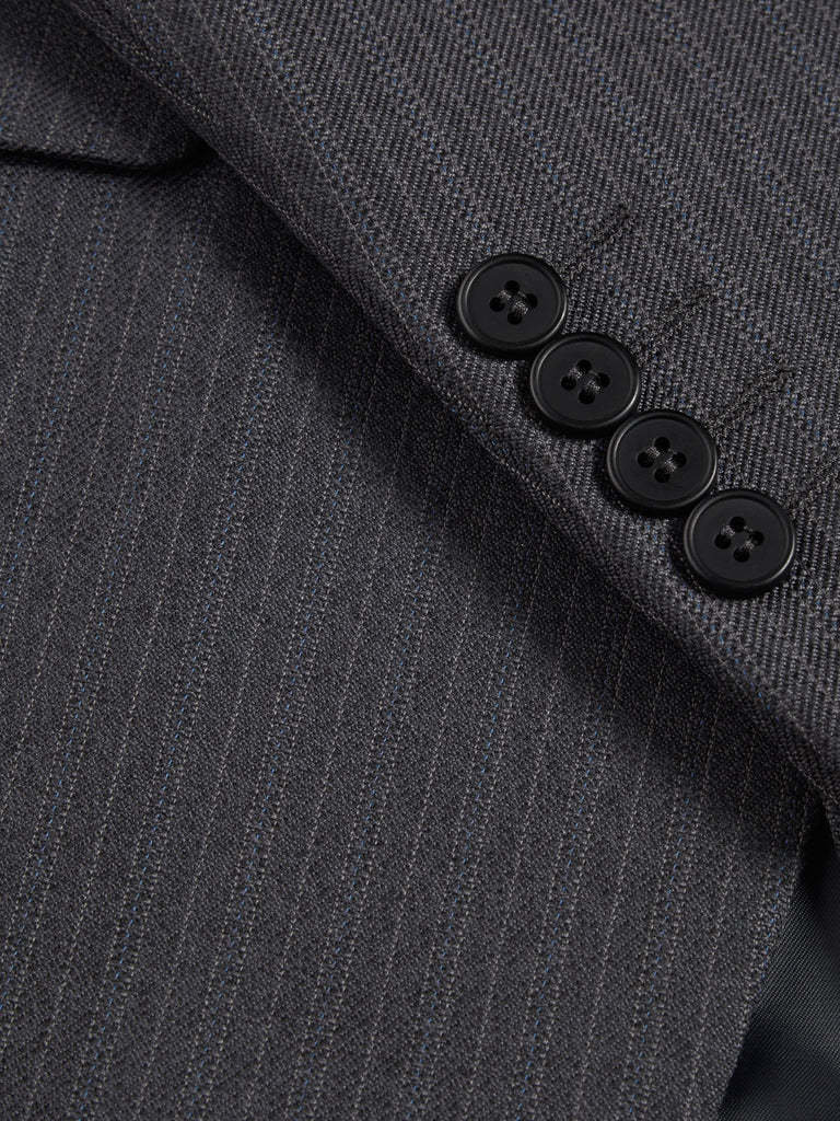 Wellington Mix & Match Suit - Grey Wool Blend Jacket