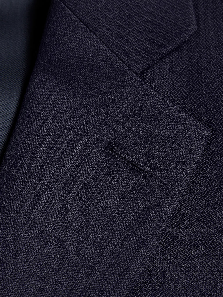 Wellington Mix & Match Suit - French Navy Wool Blend Jacket