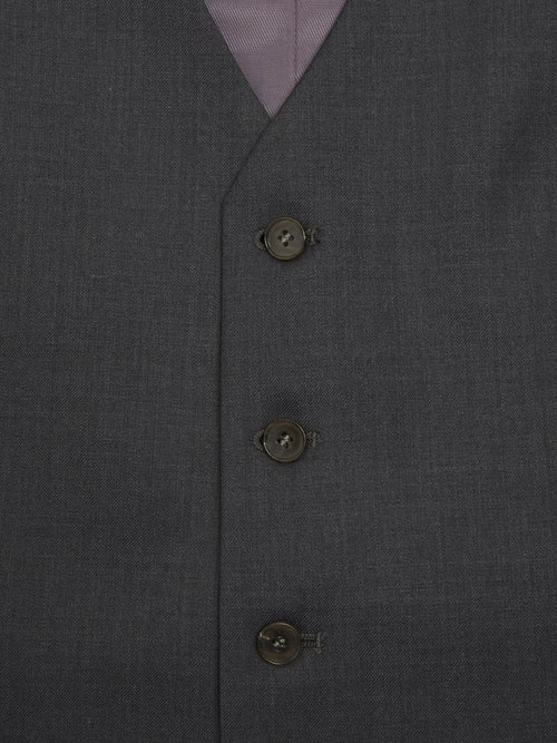 Daniel Grahame Tapered Fit Mix & Match Suit Waistcoat - Grey