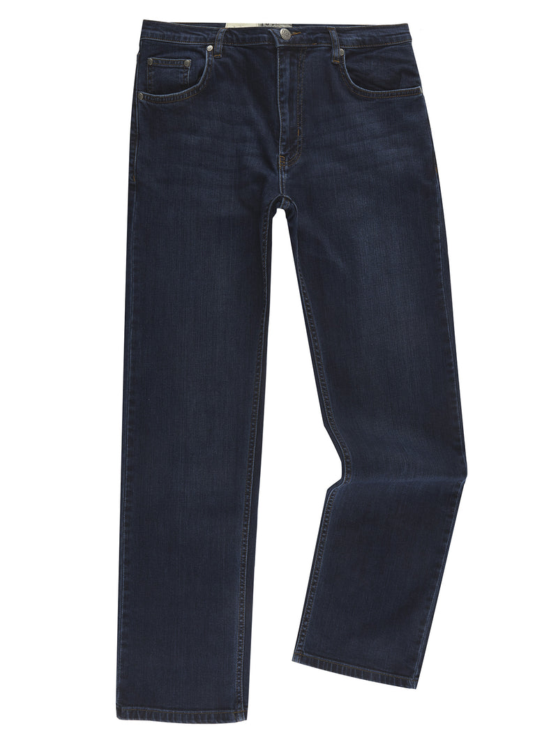 DG's Drifter Regular Fit Dark Stonewash Jean