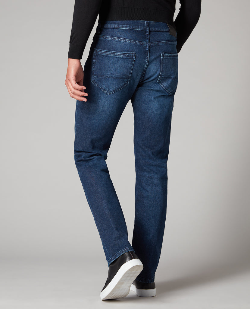 Remus Uomo Tapered Fit  Dark Wash Jean