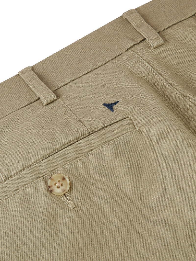 DG's Drifter Cotton Stretch Chino Trouser - Beige