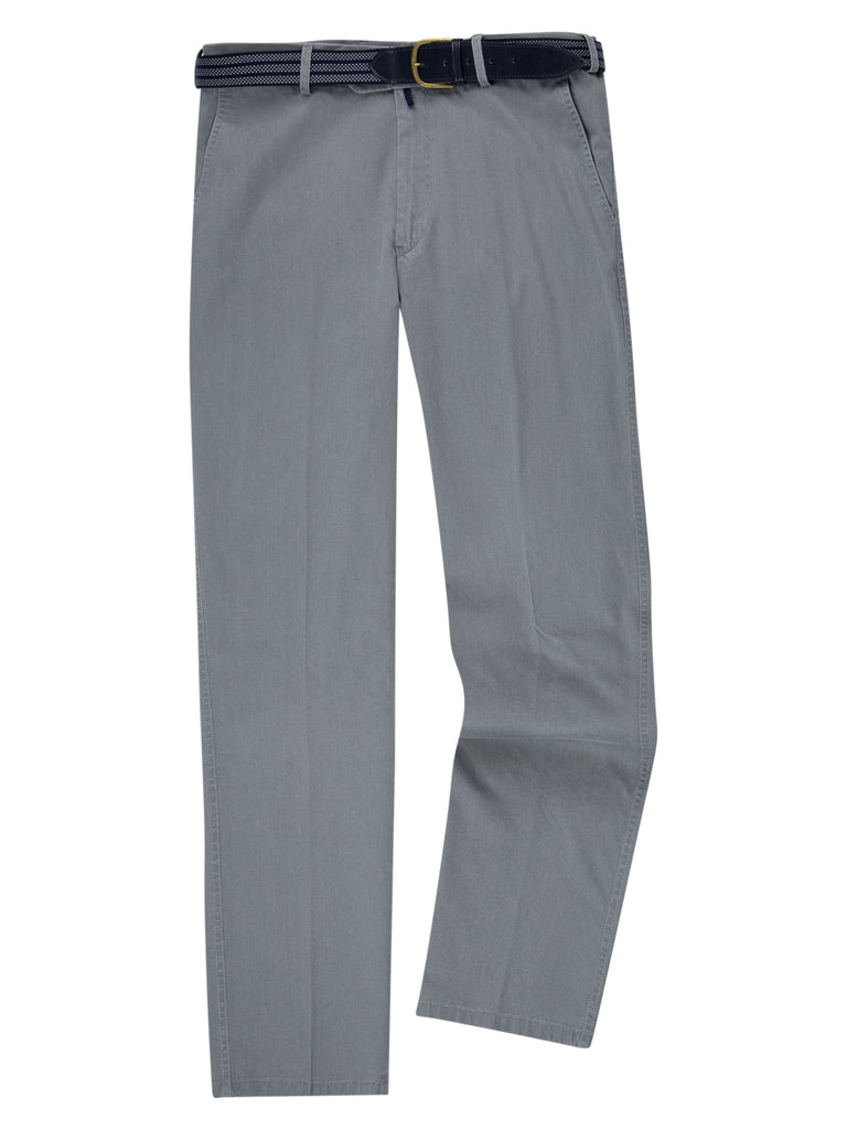 Drifter Cotton Stretch Casual Trouser - Grey