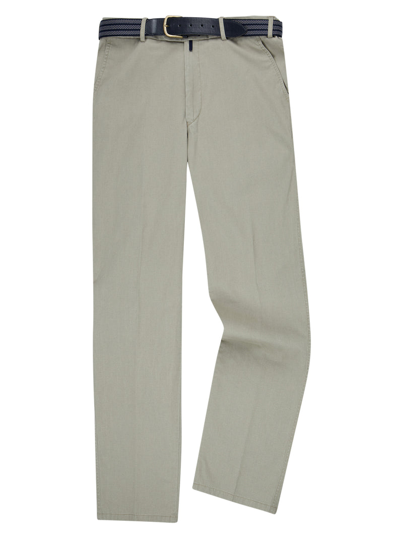 Drifter Cotton Stretch Casual Trouser - Stone