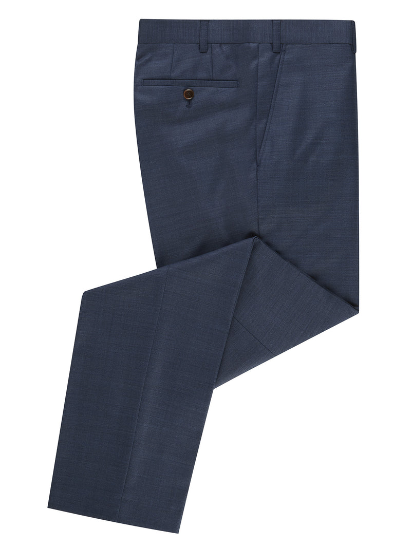 Daniel Grahame Tapered Fit Mix & Match Suit Trousers - Blue