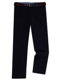Remus Uomo Cotton Stretch Trouser - Navy