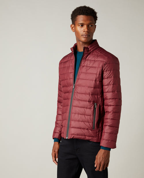 Remus Uomo Norton Casual Jacket - Dark Red